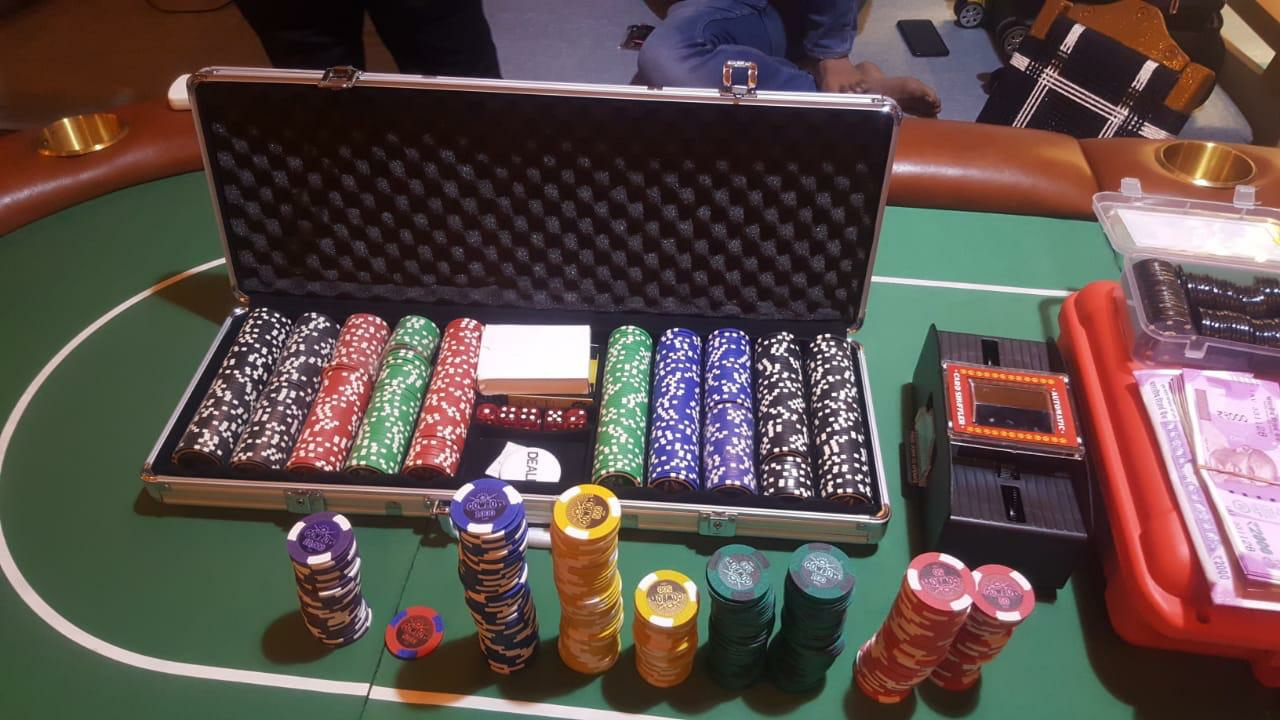 Poker chips case 1000